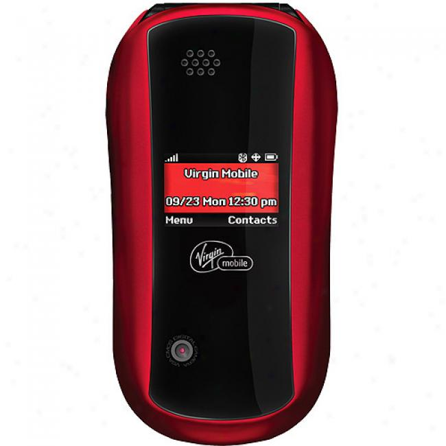 Virgin Mobile Arc Camera Flip Phone With Bluetooth