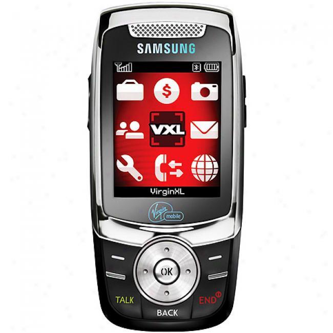 Virgin Mobile Slash Slider Camera Phone With Bluetooth