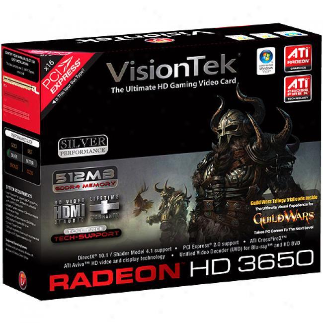 Visiontek Ati Radeon Hd 3650 512mb Graphics Card