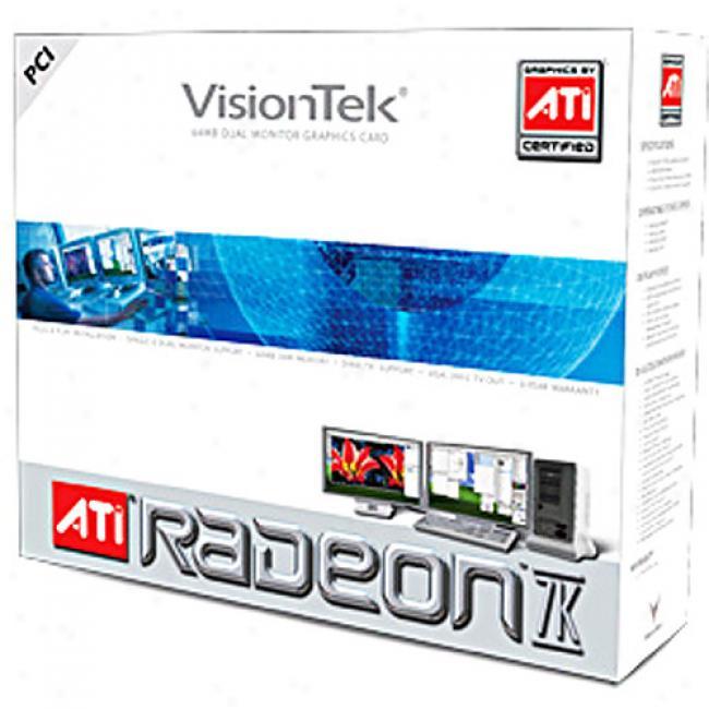 Visiontek Dual Monitor 7k 64mb Ddr Pci Graphics Card