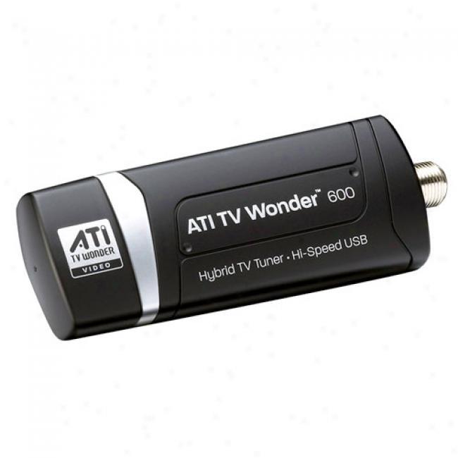 Visiontek Tv Wonrer Hd 600 Usb Hybrid T\/ Tuner