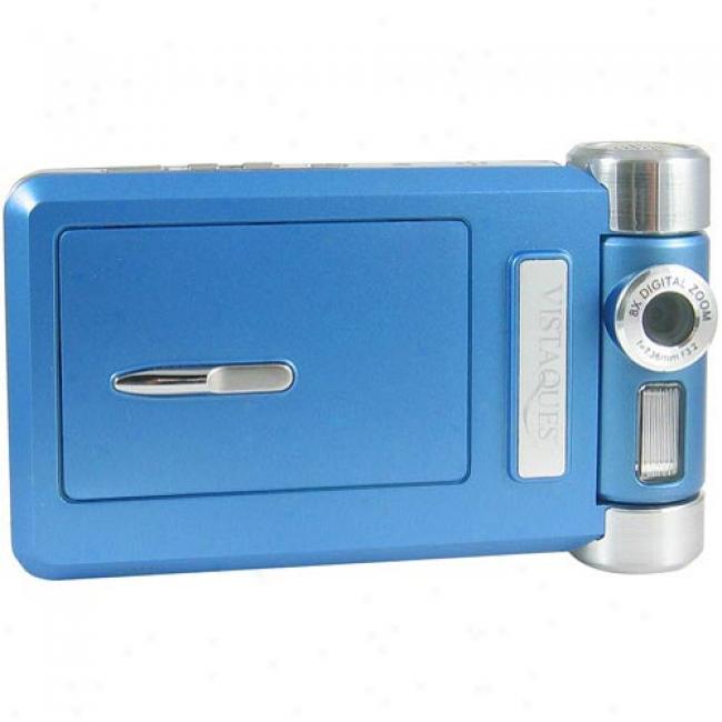 Vistaquest Dv-8 Blue Digital Camcorder