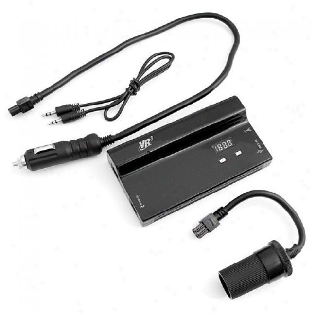 Vr3 110w Power Inverter & Fm Transmitter
