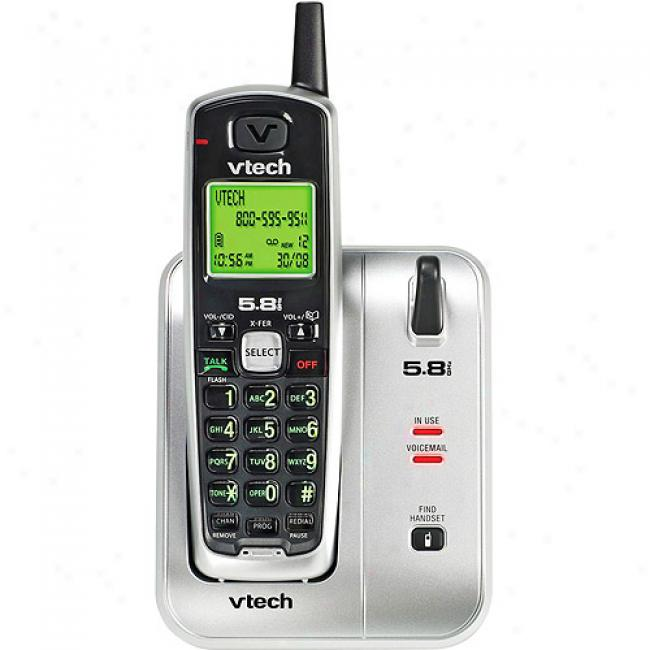 Vtech 5.8 Analog Phone With Caller Id