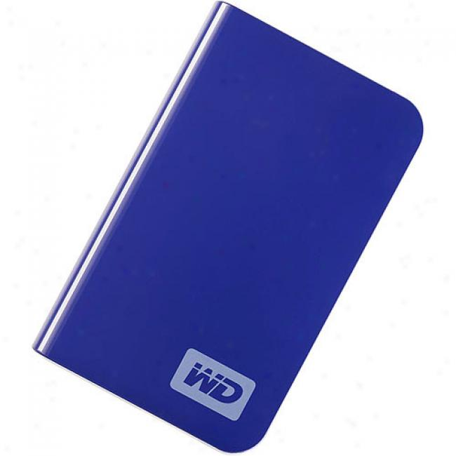 Western Digital 250gb My Passport Essential Portable External Hard Drive, Deep Viola
