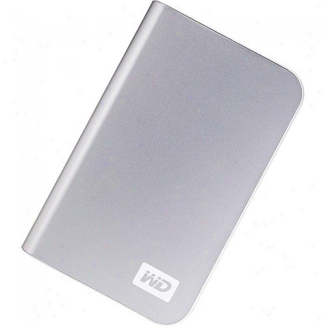 Western Digital 320gb My Passport Vital Portable External Hard Drive, Silver