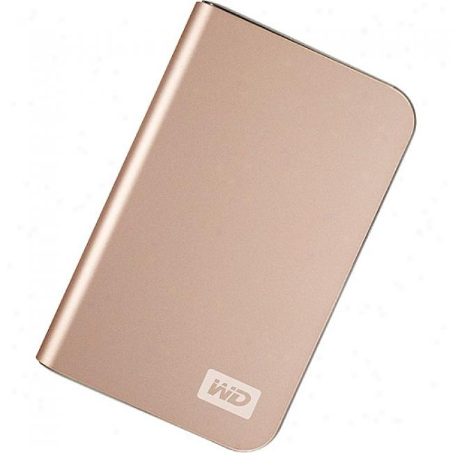 Western Digital 500gb My Passport Elite Portable External Hard Drive, Bronze