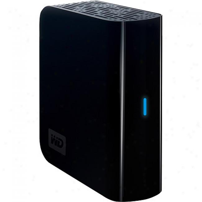 Western Digital 640gb My Work Essential Ii Usb 2.0 External Hard Drive - Wdh1u6400n