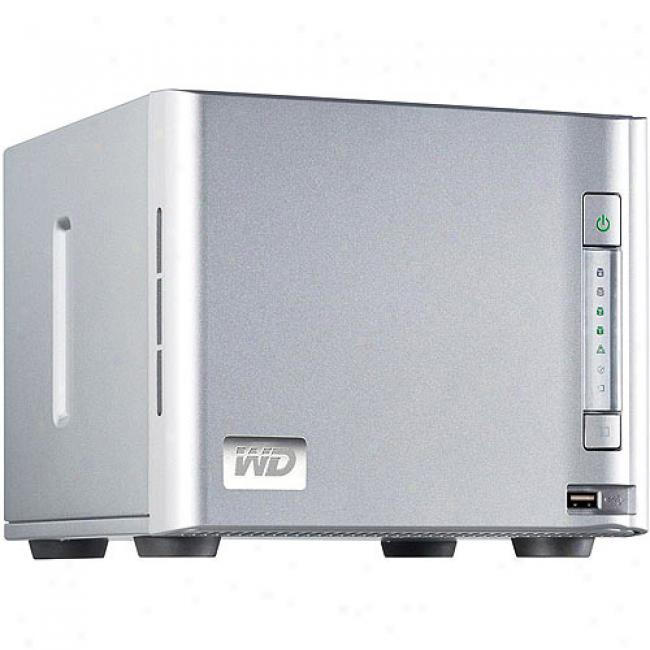 Westedn Digital Sharespace 2tb 4-bay Raid Networl Storage System - Wda4nc20000n