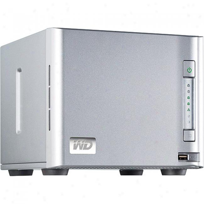Western Digital Sharespace 4tb 4-bay Raid Network Storage System - Wda4nc40000n