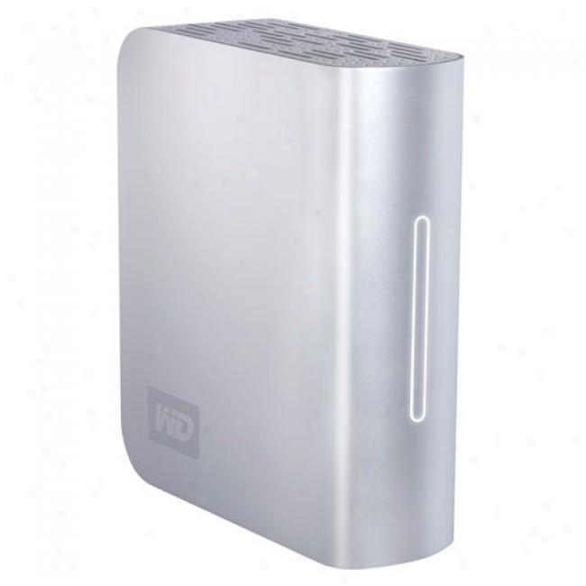 Western Digital Wdh1q5000n 500gb My Book Studio Editiom External Usb/firewire & Esata Hard Drive -energy Star Compliant