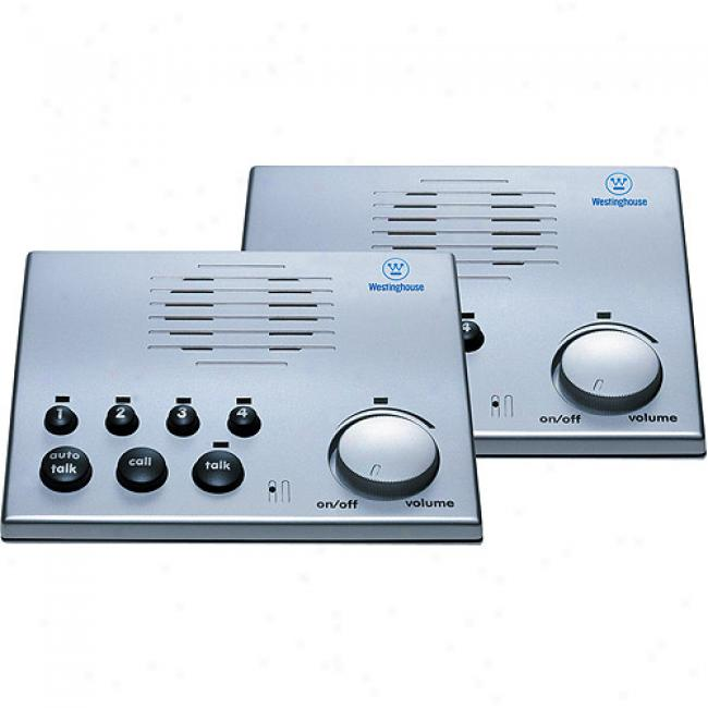 Westinghouse 4-channel Voice-activated Intercom