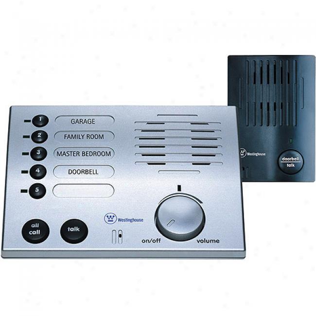 Westinghouse 5-channel Wireless Doorbell Intercom