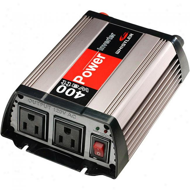 Whistler 400-watt Power Inverter With Cifcuit Pro