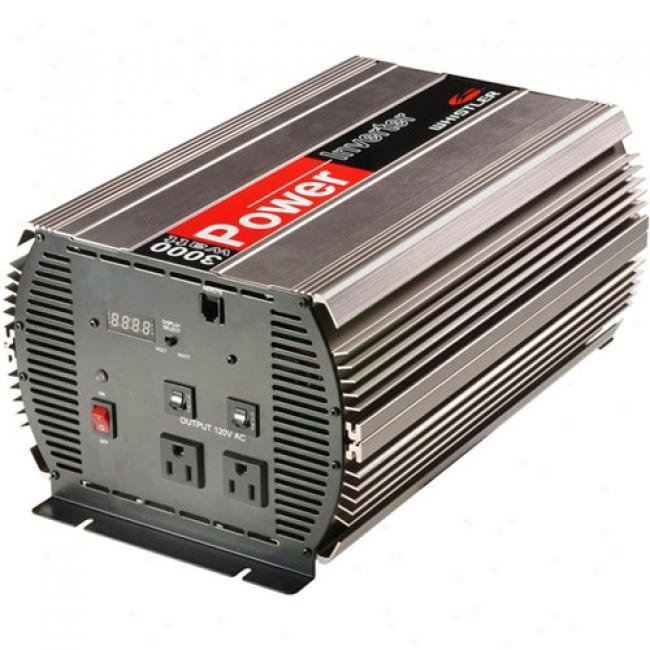 Whistler - Dc To Triple-outlet Ac Power Inverters, Pi-3000w