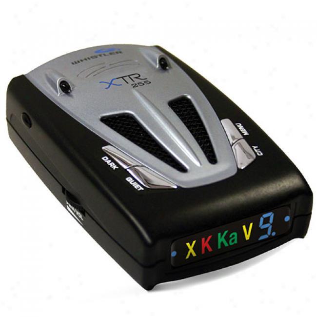 Whistler Xtr-255 Laser Radar Detector