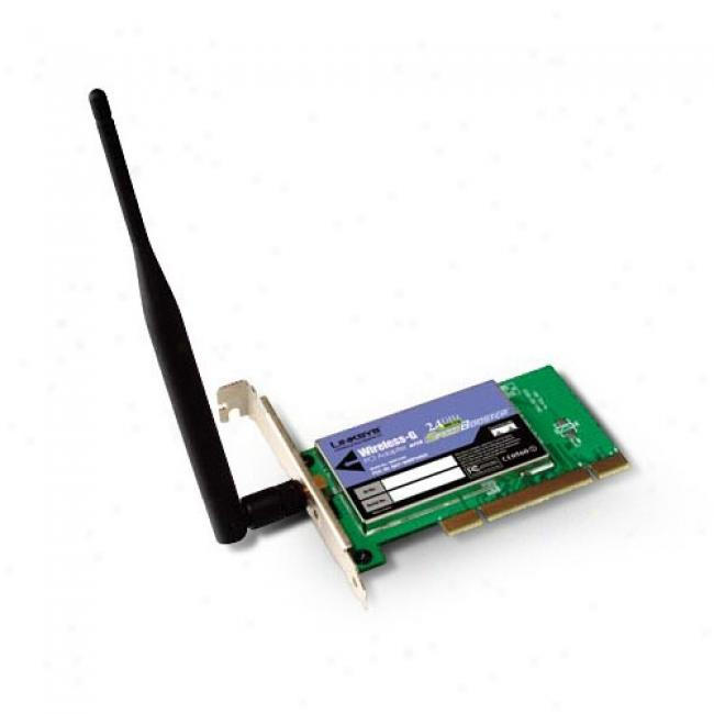 Wireless-g 54mbps Pci Adapter
