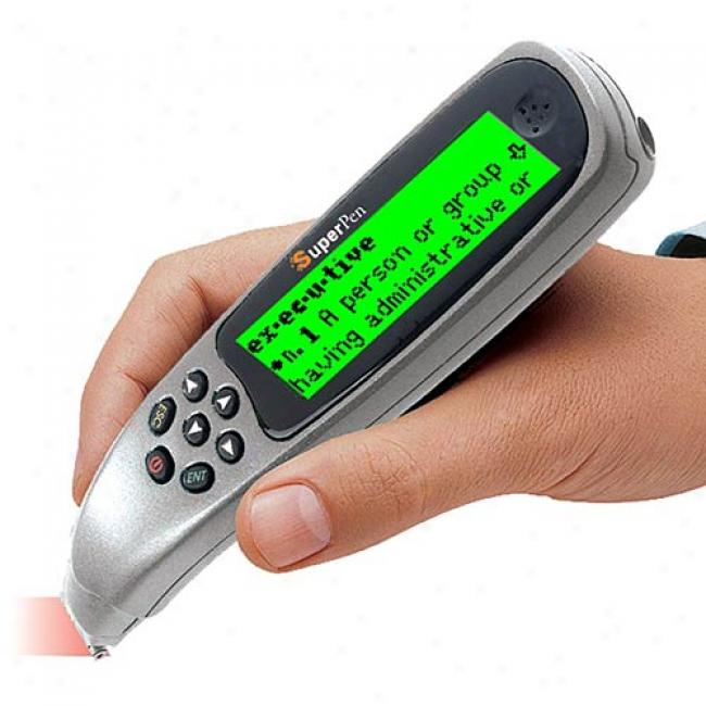 Wizcom Superpen Professional Pen Scanner And Dictionary