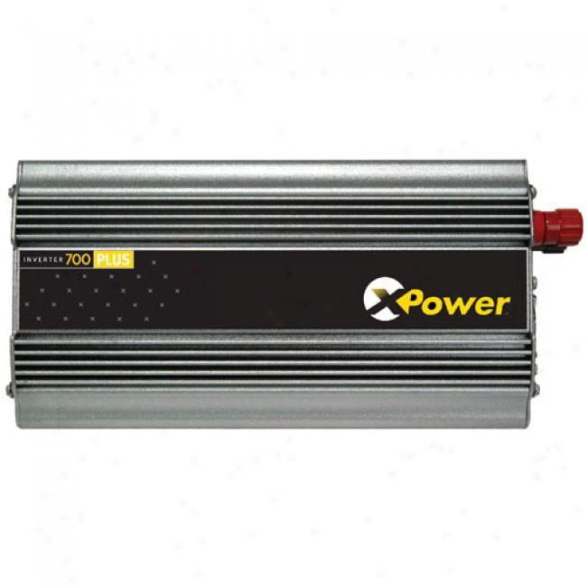 Xantrex - Dual Outlet Dc-to-ac Power Inverter, Xpowsr-700 Plus