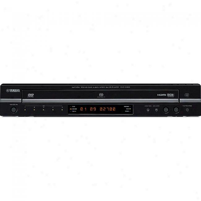 Yamaha 5-disc Dvd Changer W/ Progressive Scan, Dvd-c950