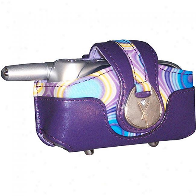 Yors Universal Horizontal Purple Fashion Pouch