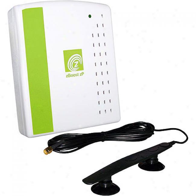 Zboost Wirelesq Cell Phone Signal Booster For Single User