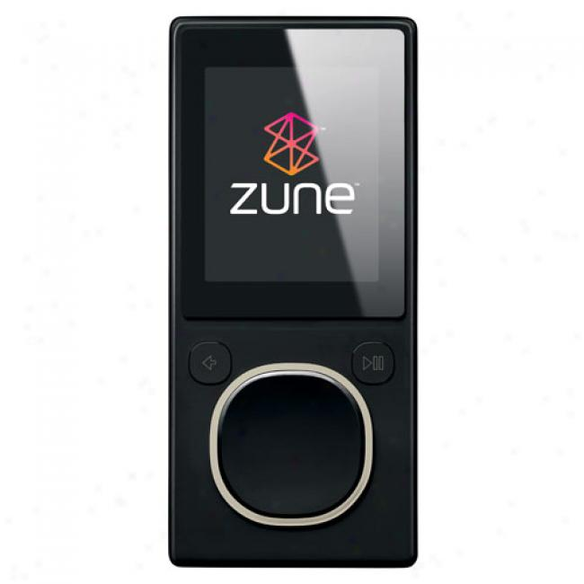 Zune 4gb Mp3 Video Player, Black