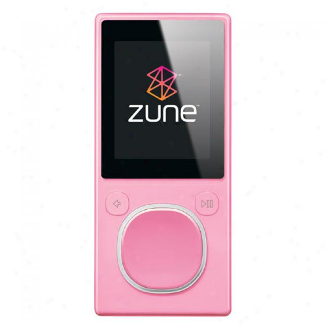 Zune 4gb Mp3 Video Player, Pink
