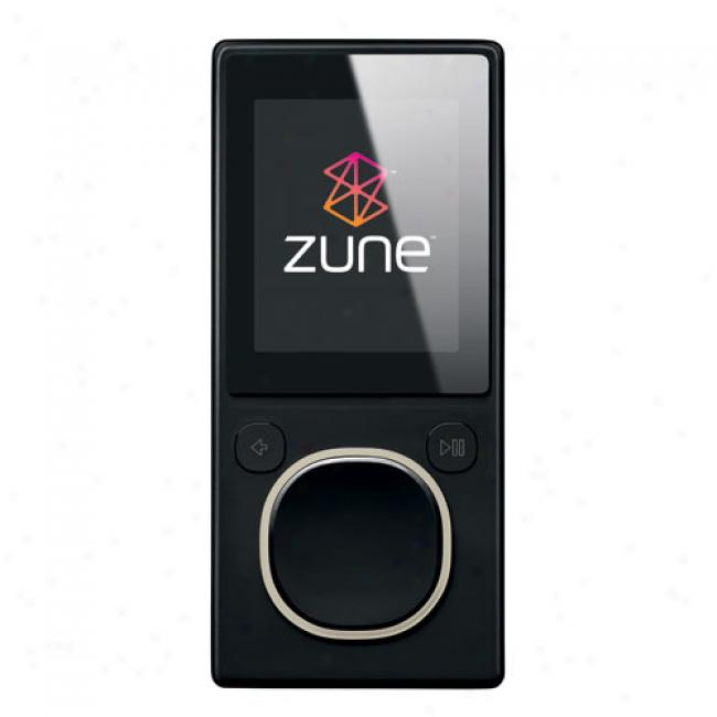 Zune 8yb Mp3 Video Player, Black