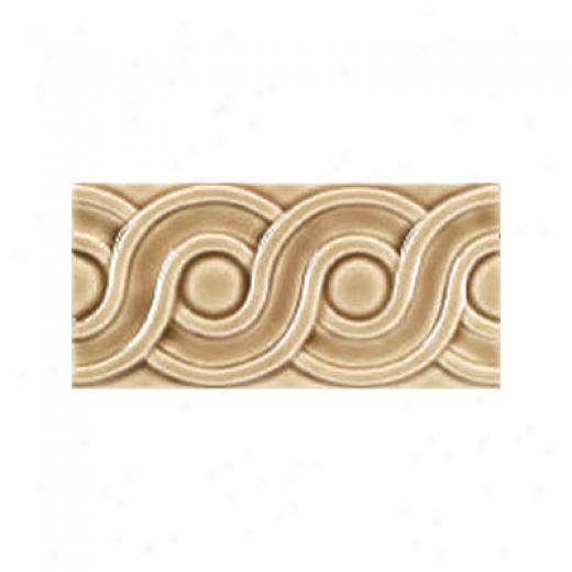 Adex Usa Hampton Listello Classic 3 X 6 Taupe Tile & Stone