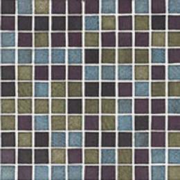 Adex Usa Metallics Mosaic Titanium Mix 1 Tile & Stone