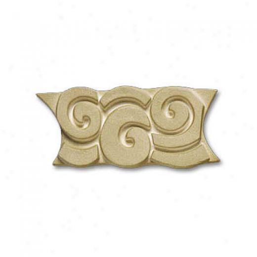 Adex Usa Natural Spiral Listello Green 2 Tile & Stone