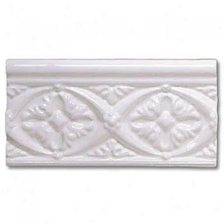 Adex Usa Neri Byzantine Listello White iTle & Stone