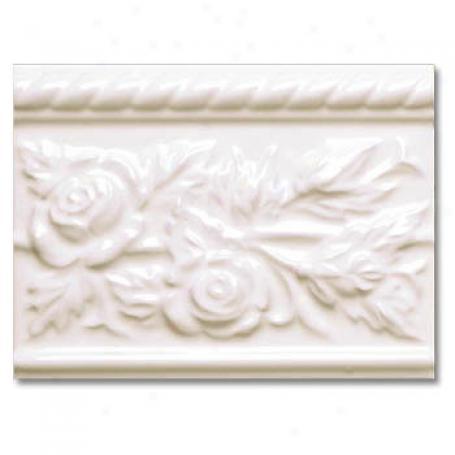 Adex Usa Neri Rozes Listello Bisque Tile & Grave~