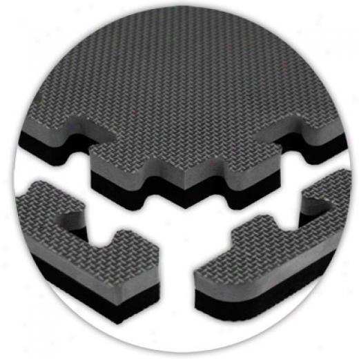 Alessco, Inc. Jumbo Reversible Grey Black Reversible Caoutchouc