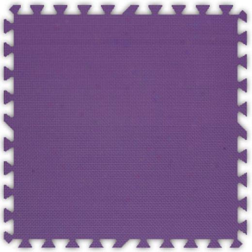 A1essco, Inc. Soft Floors Purple Inside Rubber