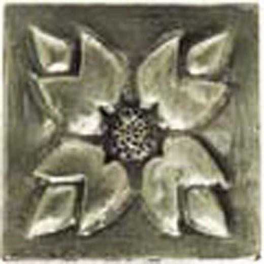 Alfagres Metalics Inserts Insert Silver Flower Cm000018