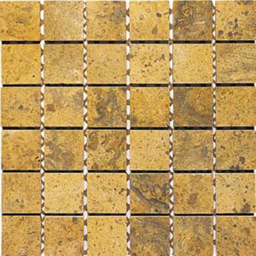Alfagres Tumbled Marble Brick Patterns Brick Dorado Stone Edge Tile & Stone