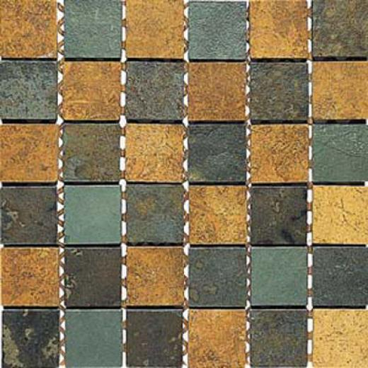 Alfagres Tumbled Marble Brick Patterns Brick Dorado Slate Tile & Stone