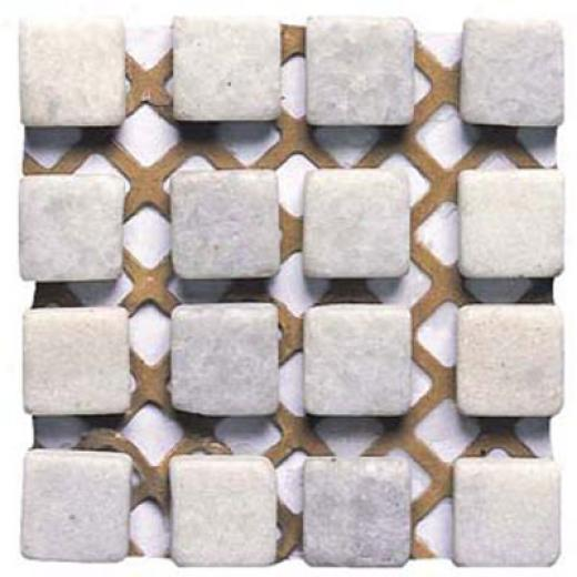 Alfagres Tumbled Marble Mesh Inserts Mesh Blanco Pc1060