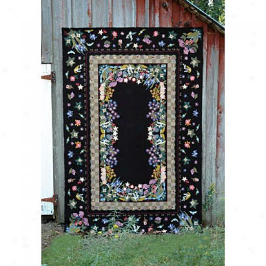 American Cottage Rugs Floral Garden 2 X 3 Barn Area Rugs