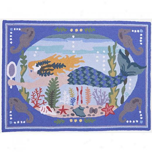 American Cottage Rugs Mermaid Mermaid Area Rugs