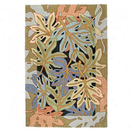 American Cottage Rugs Philodendron Philodendron Multi Region Rugs