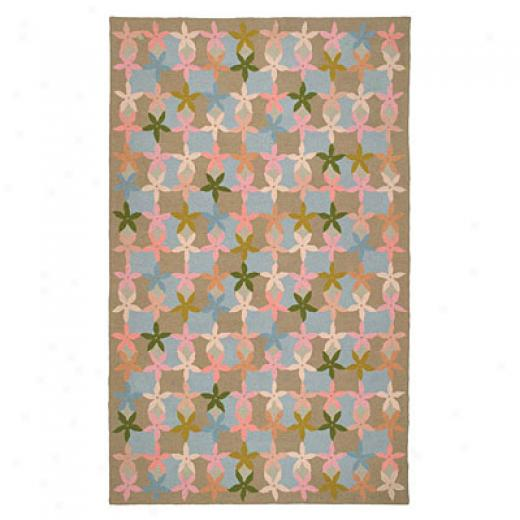 American Cottage Rugs Starfish 5 X 8 Starfish Sage Area Rugs
