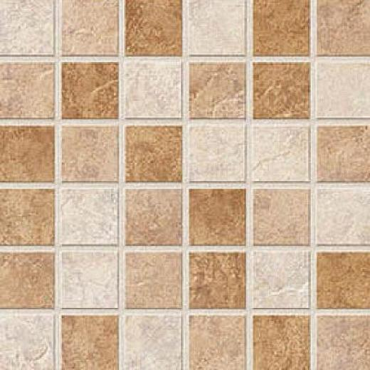American Florim Copper Ridge Mosaic Multi Colored Tile & Stone