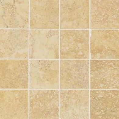 American Olean Amiata Mosaic 3 X 3 Giallo Tile & Stone