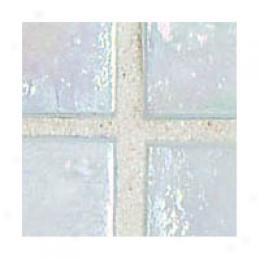 American Olean Bijou De Verre Mosaic Snow Tile & Stone