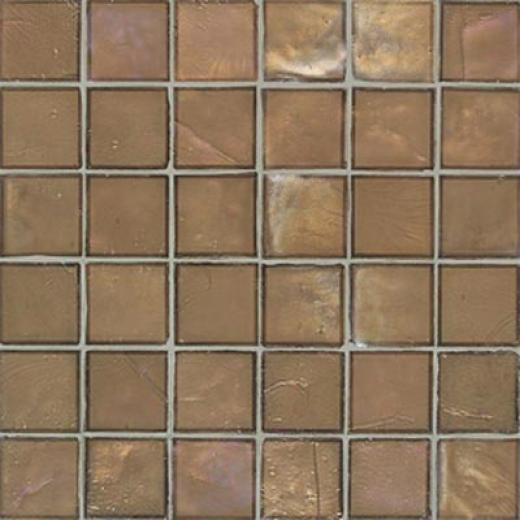 American Olean Candalara Glass Mosaic Cinnamon Spice Tile & Stone