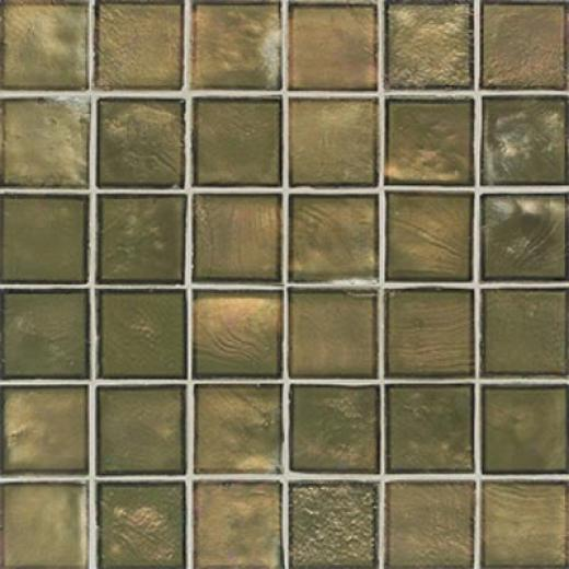 American Olean Candalara Glass Mosaic English Ivy Tile & Stone