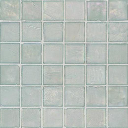 American Olean Candalada Glass Mosaic Glacier Mist Tile & Stone